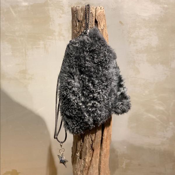 Fell-Rucksack schwarz